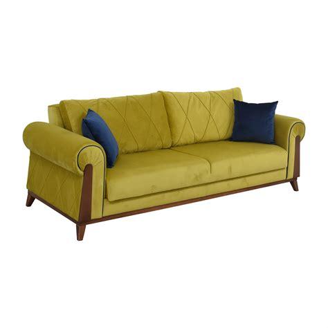 Green Sleeper Sofa by 41 Lambert Lambert Chartreuse Green Sleeper Sofa