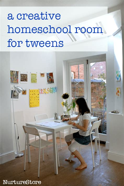 Room Theme Ideas For Tweens by A Creative And Simple Homeschool Room For Tweens