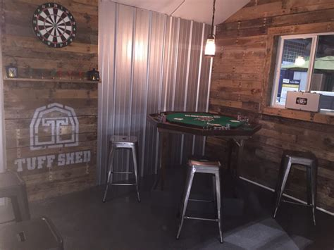 design  man cave worthy   grunt tuff shed