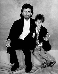 George Harrison with his son Dhani | Family Portraits in b ...