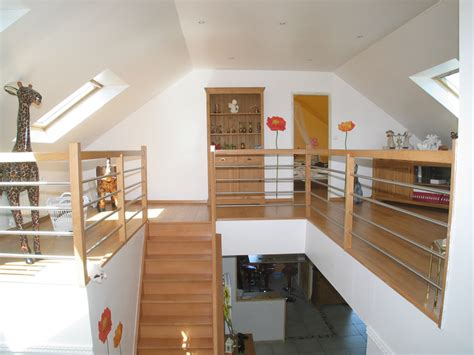 mezzanine aménagement de combles harnois