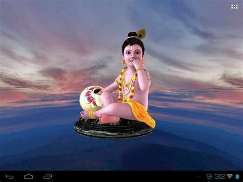 Krishna Animated Wallpaper Free - krishna s free animated 3d mobile app live wallpaper