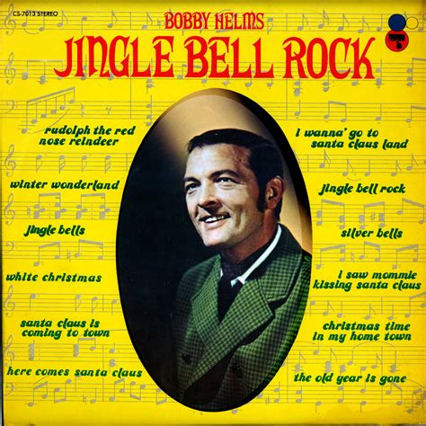 bobby helms white christmas helms bobby jingle bell rock certron music cs7013