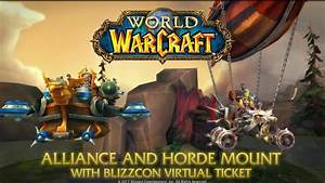 BlizzCon 2017 Virtual Ticket & Goody Bag Now Available ...