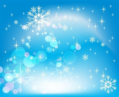 Winter Birthday Background by Invierno Nieve Background Sparkling Blue Bokeh Decoracion