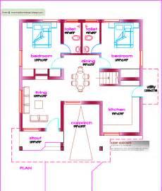 one floor house plans single floor house plan 1000 sq ft kerala house design idea