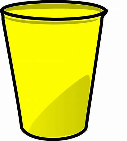 Cup Yellow Clip Cups Clipart Clker Cliparts