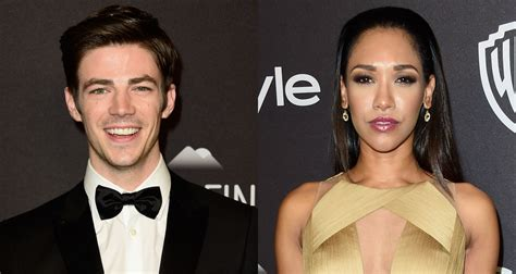 grant gustin candice patton flash  instyles golden