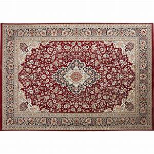 tapis kashmir rouge 290x200 cm leroy merlin With tapis roy merlin