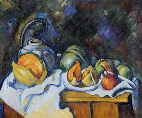 Paul Cezanne Best Paintings Cezanne Still With Melons And Apples We Still