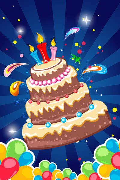 birthday tarpaulin background  vector