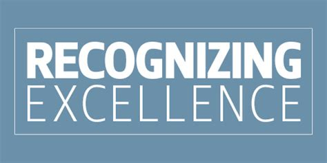 Recognizing Excellence | University Relations and ...
