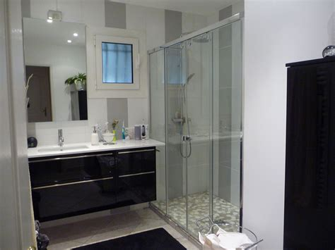 idee deco salle de bain ikea amenagement salle de bain avec italienne