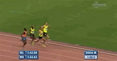 Race Runner Line Loses Celebration Finish Premature