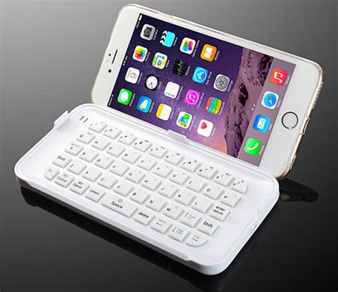 iphone 6 keyboard clip this keyboard to the iphone 6 plus and get productive