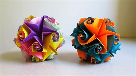 how to make 3d star and balls curler krystyna burczyk how to make curler ezycraft