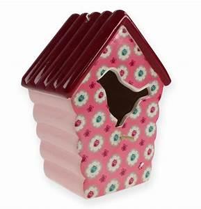 Vogelhaus Zum Hängen : karamik vogelhaus zum h ngen rosa 19 5cm kaufen in schweiz ~ Orissabook.com Haus und Dekorationen