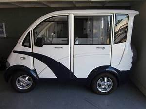 Enclosed Electric Golf Cart Street Legal  With Images