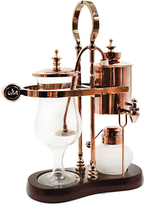 Luxury royal family balance syphon coffee maker: The Balancing Siphon Coffee Maker was invented back in 19th century in the Europe. The process ...
