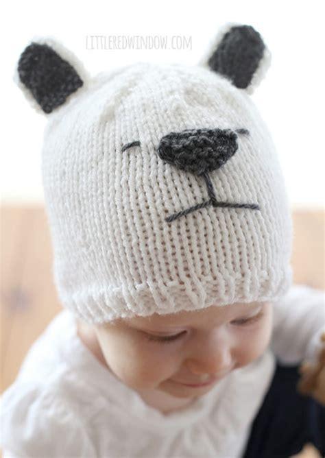 polar bear knitting patterns   loop knitting