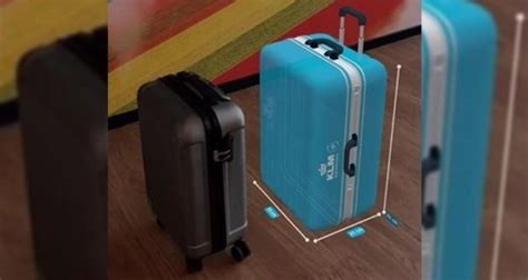 klm launches ar  luggage check standby nordic