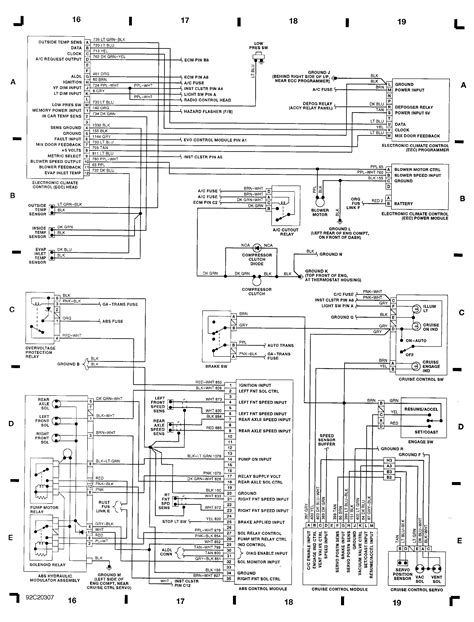1994 Cadillac Wire Diagram by Wiring Diagrams