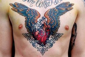 Real Heart Tattoo Designs | Real Heart Wings Tattoo ...