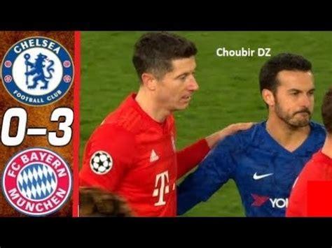 Chelsea Vs Bayern 0-3 UEFA Champions League 25/02/2020 ...