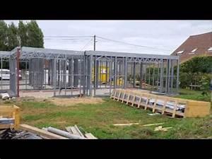 Maison Structure Métallique : maison structure m tallique youtube ~ Melissatoandfro.com Idées de Décoration