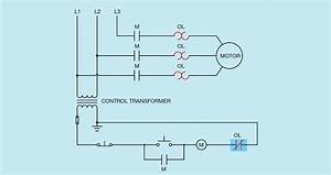 Electron Flow In 3 Phase Motor Circuit   Electricians