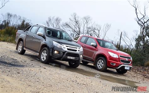 2015 Holden Colorado Vs Isuzu D-max