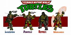 Tmnt Redesigns In Color By Josh Horn On Deviantart