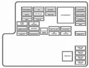 Pontiac G6  2005 - 2006  - Fuse Box Diagram