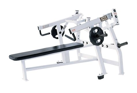 Hammer Strength Plate Loaded Isolateral Horizontal Bench