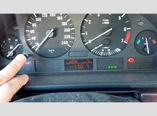 BMW E39 OBC low cluster unlock coolant temp, batt