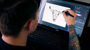 Best Drawing Tablet With Screen Under  450