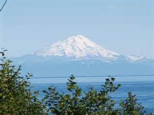 Mt. Redoubt From Soldotna Alaska