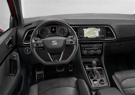 seat ateca interior seat ateca fr llegará a méxico como modelo 2018 autos y