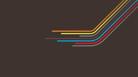 Vector Wallpaper Desktop by Retro Style Colorful Lines Vector Wallpapers Hd Desktop