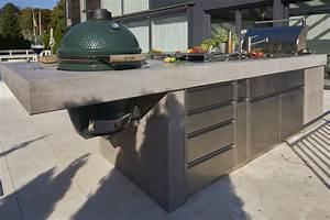Outdoor Küche Beton : chromstahl trifft beton outdoor k chen ~ Michelbontemps.com Haus und Dekorationen