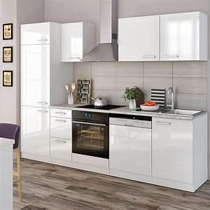 Küche 260 Cm : vicco k che 270 cm k chenzeile k chenblock real ~ Indierocktalk.com Haus und Dekorationen