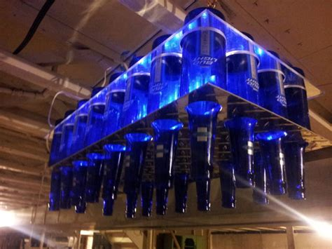 beer bottle chandelier bigdiyideascom