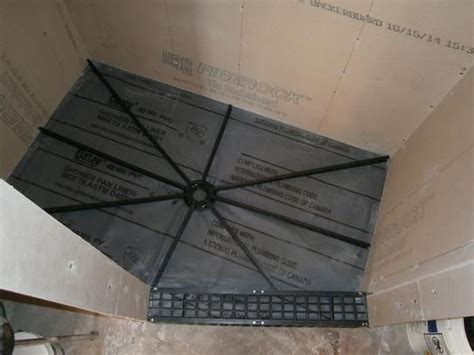 25 best ideas about shower pan liner on tile