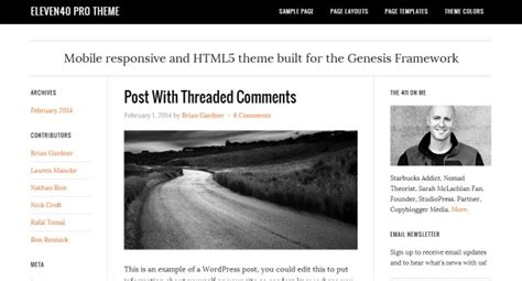 30+ Clean and Minimal WordPress Themes That are Worth a