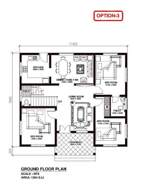 elegant kerala model bedroom house plans home plans design