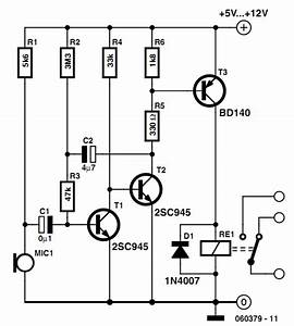 Voice Activated Switch Diagram