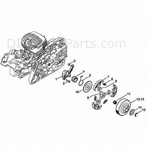 Stihl Ms 271 Chainsaw  Ms271 Cbe  Parts Diagram  Oil Pump
