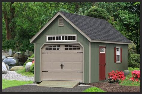 single car garage elite garden single car garage ags structures