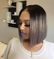 Short Bob Sew in Hairstyles for Black Wom…