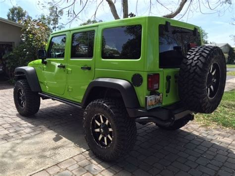Used Cars In New Richey Fl by Sell Used 2013 Jeep Wrangler Moab Lifted In New